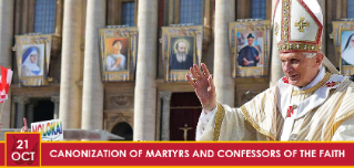 CANONIZATION OF MARTYRS AND CONFESSORS OF THE FAITH
